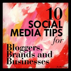 Quick-fire social media tips for businesses including restaurants and magazines. Social Media Tips, Social Media Marketing, Digital Marketing, Tips & Tricks, Business Branding, Public Relations, Good To Know, About Me Blog, Megan Ward