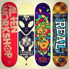Our new additions to the skate wall