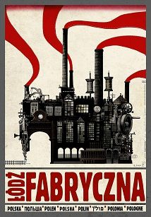 Lodz Fabryczna, Polish Poster by Ryszard Kaja Revolution Tattoo, Revolution Poster, Revolution Quotes, Polish Movie Posters, Ballet Posters, Vintage Travel Posters, Retro Posters, Exhibition Poster, Teaching History