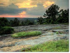 Panola Mountain State Park in Stockbridge, GA