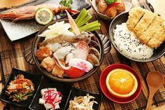 Japanese Seafood Lunch Set 定食