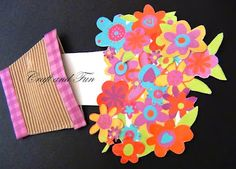 Crafts for children: greeting cards for  Mother's Day