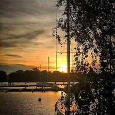 #sunset #stockholm #tweaked #sweden #woodenboat #wasahamnen