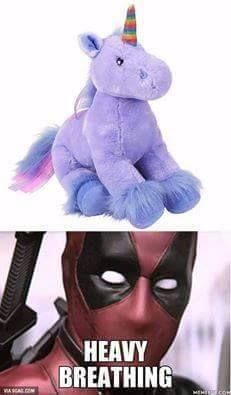 unicorns will never be viewed in the same way again ... | Deadpool