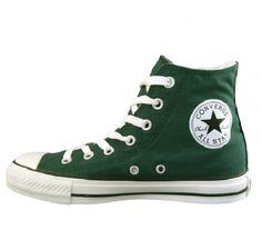 converse all star dark green high tops - Google Search Converse Verde a02423deb3bc