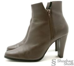 328b616fcf9 NEW Newport News Womens Ankle Boots Size 11 Brown Leather Western Dress  Booties #NewportNews #