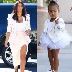 Like mommy, like daughter! ♡ ;) #BalmainTwinsies ♡