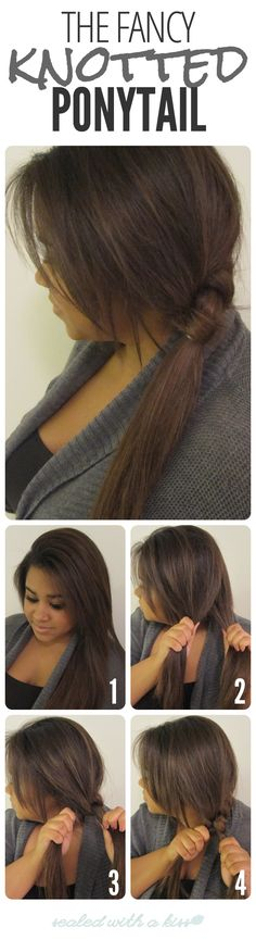 The Fancy Knotted Ponytail - Kouturekiss - Your One Stop Everything Beauty Spot - kouturekiss.com