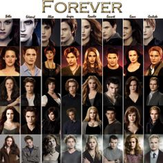 The Twilight Saga. I still think they all looked best in Twilight. And in Bd part Twilight Film, Twilight Saga Quotes, Twilight Saga Series, Twilight Edward, Twilight Cast, Twilight Breaking Dawn, Twilight New Moon, Twilight Poster, Vampire Twilight