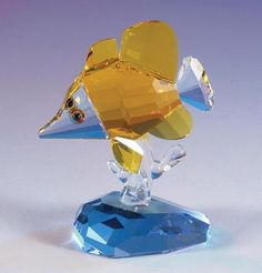 Butterfly Fish crystal figurine from www.CrystalWorld.com