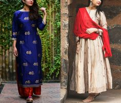 Don't waste your old sarees! Here are 8 creative dresses you can make from your old saree and give a new look!