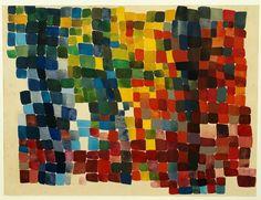 Sophie Taeuber-Arp, Composition en taches quadrangulaires, polychromes, denses, 1920, Stiftung Arp e.V., Berlin/Rolandswerth