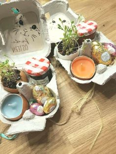 DIY handicrafts with children in spring / Easter. Great idea to tinker as a decoration … DIY tinkering with children in spring / Easter. Great idea to tinker as a decoration. Best Decor, Easter Gift, Small Gifts, Handicraft, Frost, Diy And Crafts, Spring, Holiday, How To Make