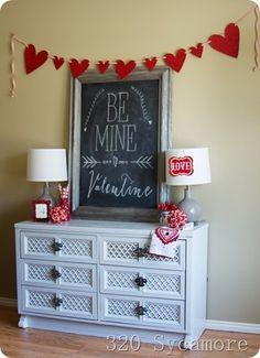 valentine vignette (Valentins Day Signs Messages)