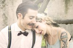 engagement session vintage - Rock'n'Roll Weddings! photography