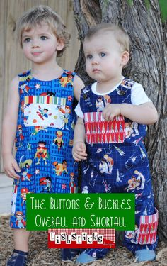 The Buttons & Buckles / Overall and Shortall | Fishsticks Designs Going to order this pattern...any thing else you fancy while I am at it?