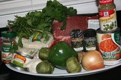 A Year of Slow Cooking: CrockPot Chile Verde Recipe