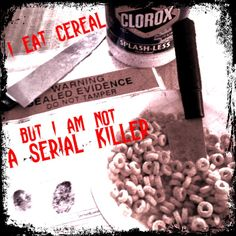 TLT: Teen Librarian's Toolbox: I eat cereal, but I am not a serial killer (Serial Killers in YA Lit)