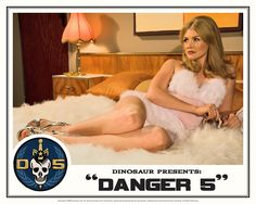 "Danger 5 Lobby Card #1 - ""The fruit is ripe but the tree is yet to be harvested"""