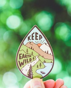 Keep Earth Wild | Sticker – Keep It Wild