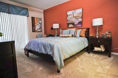 Sabal Park Apartments Master bedroom