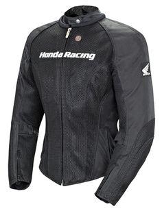 Joe Rocket Womens Honda Speedmesh Black Jacket - Motorcycles508