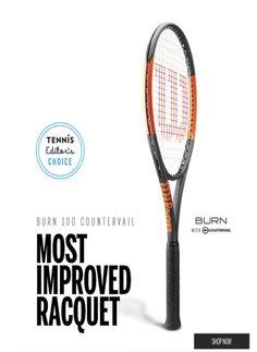 New racquet: Wilson Burn 95 CV