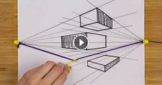 Draw like a professionl with this simple trick! If you always get confused about drawing something where the perspective makes point, then this tip is perfect for you. This video got more than 15 million views in just 17 hours.