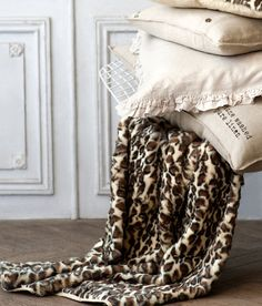 Déco léopard /Martine Haddouche/