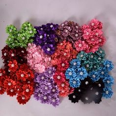 Some of our colors for the Fancy Flowers  #bows #doggrooming #dogbath #pets #dogbows #dogbowsforsale #dogbowswag #dogbowtie #dogbowsonsale #dogbowshows #dogbowsofinstagram #dogbowsfordays #dogbowstyle #dogbowsmiami #dogbows #dogties #pembroke #Pet #pets #salon #grooming #dog  #welovedogs #welovecats #welovepets #weloveanimals #paws  #grooming #petsofinstagram #pets #doggrooming by purrrfectbows