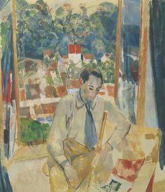 Rik Wouters : De fluitspeler (1914)  Olieverf op doek