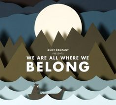 Quiet Company – We Are All Where We Belong album cover