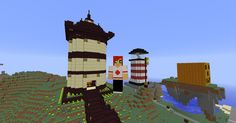 Asian Inspired Tower Exterior