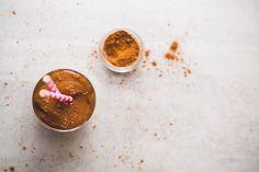 Skinny Chocolate Smoothie (sugar-free, dairy-free) | Liezl Jayne