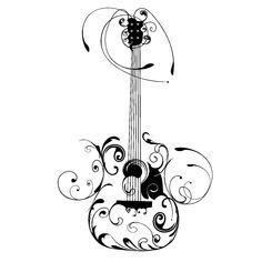 electric guitar drawing png - Pesquisa do Google