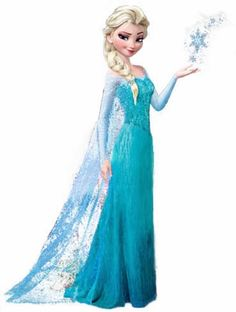 DIY Elsa Dress (From Frozen) via TheKimSixFix.com