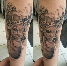 I'm always looking at tattoos on Pinterest, going all heart eyes over some gorgeous ones! Totally forgetting that do infact have my own gorgeous stag tattoo!
