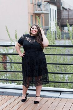 Plus-Size Women In Sheer Clothing Big Girl Fashion, Curvy Fashion, Plus Size Fashion, Plus Size Dresses, Plus Size Outfits, Plus Size Brands, Sheer Clothing, Short Sleeve Dresses, Dresses With Sleeves