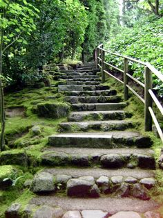 Items similar to Japanese Garden Stairs on Etsy