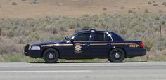 Nevada Highway Patrol Crown Victoria