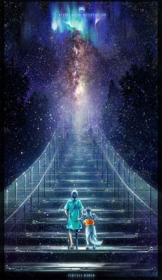 Paintings of stairways to heaven | This is a fiery God fearing magical stairway. Description from pinterest.com. I searched for this on bing.com/images