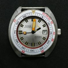 FS: Doxa Sub 300t Searambler Cool Watches, Watches For Men, Men's Watches, Submarine For Sale, Vintage Dive Watches, Time Capsule, Luxury Watches, Omega Watch, Scuba Diving