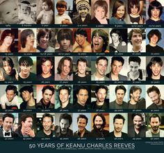 Happy 50th Birthday, Keanu Reeves! September 2nd, 2014. I don't care if you're old enough to be my dad.
