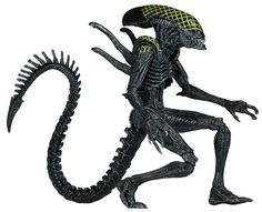 "Amazon.com: NECA Aliens Series 7 AvP Grid Action Figure (7"" Scale): Toys & Games"