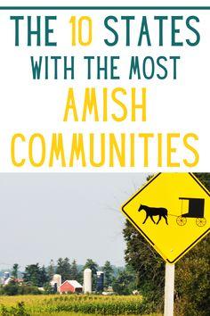 Amish Farm, Amish Country, Amish Community, New Community, Holmes County, The 10, Love Photos, Family Life, Illinois