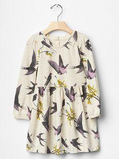 Bird jersey dress Product Image