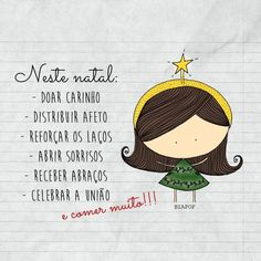 Christmas And New Year, Christmas Time, Portuguese Quotes, Butterfly Books, Happy Week End, Christmas Messages, Lettering Tutorial, Special Words, Sweet Words