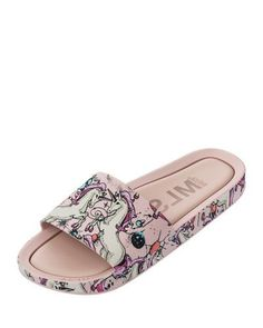 Beach Slide Flamingo Sandal, Kids #ad #summer #flamingo #sandal #kids #fashion #unicorn