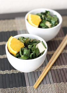 Fake Food Free: Sweet Orange-Sesame Bok Choy