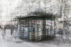 YellowKorner recommends a Photograph by LUC MARCIANO entitled Kiosque. Double Exposure, Contemporary Artists, Photo Art, Art Photography, Digital Art, Flow, Walls, Google Search, Inspiration